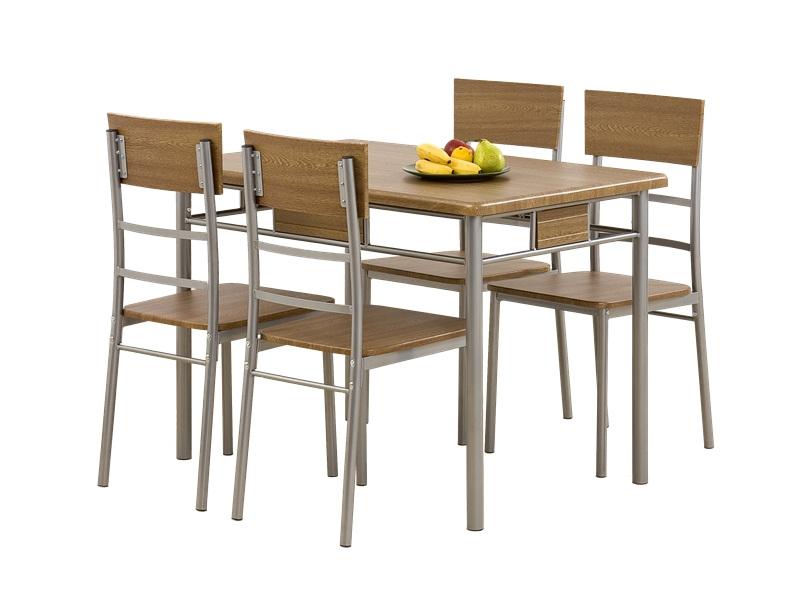 konyhaasztal 4 székkel