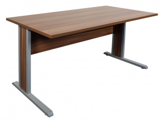 Fémlábas íróasztal