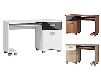 Basic számítógépasztal monitortartóval Számítógépasztal